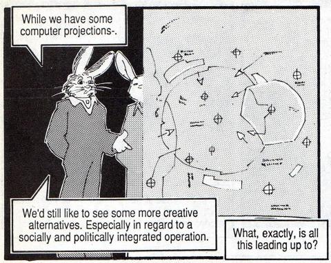 Frame from the Albedo Comic, ILR with Map